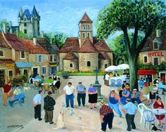 The Tournament, St. Leon Sur Vezere - margaret loxton