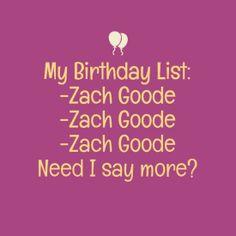 ZACH GOODE