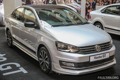 We've seen the Volkswagen Polo Allstar, now here its sedan sister - the Volkswagen Vento Allstar. The dressed-up special edition of the B-segment sedan Volkswagen Polo, Volkswagen Karmann Ghia, Volkswagen Transporter, Bens Car, Tt Car, Chevy Van, Bmw Series, Sport Seats, Subaru Legacy