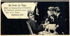 Die Parole des Tages (Kupferberg Studentica-Werbung) c.1904 | eBay