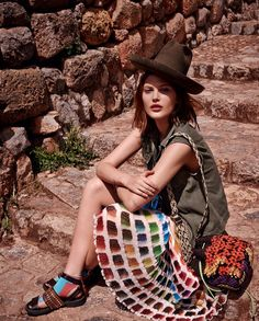 """The Terrier and Lobster: """"Heart of the Mountains"""": Catherine McNeil in Peru by Mariano Vivanco for Vogue Russia March 2014 Catherine Mcneil, Fashion Shoot, Editorial Fashion, Boho Fashion, High Fashion, Fashion Beauty, Travel Fashion, Editorial Photography, Fashion Photography"""