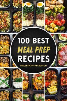 Easy Healthy Meal Prep, Best Meal Prep, Meal Prep Plans, Easy Healthy Recipes, Lunch Recipes, Healthy Eating, Dinner Healthy, Healthy Weight, Recipes For Meal Prep
