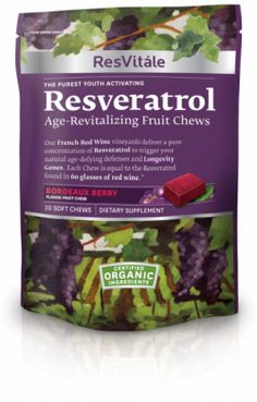 - Helps support youthful cellular activity*  - Provides age-revitalizing benefits in a delicious, convenient soft chew*  - Helps increase cellular energy*  - Antioxidant-dense superfruits*    *These statements have not been evaluated by the Food and Drug Administration.  This product is not intended to diagnose, treat, cure or prevent any disease.