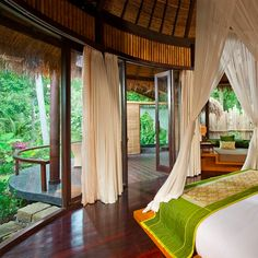 The Five Elements retreat & Spa, Ubud,  Bali, Indonesia.