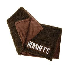 Hershey's fleece blanket
