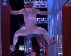 Video: Naked Guy Streaks Through The American Ninja Warrior Course Like A Pro (Possibly NSFW)