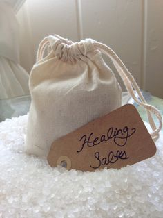 Healing Bath Salt - Dead Sea Salt & Essential Oils