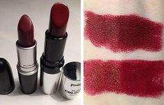 11. MAC Diva & P2 Corso Como | Splurge Or Save: The Best MAC Lipstick Drugstore Makeup Dupes