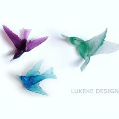 Lukeke Design's glass birds catch everyone's eye as they walk into our store. The way the birds catch the light is simply stunning! They come in a handful of different types of birds including fantails and wax eyes and a huge array of colours! They look good as a group or on their own. 🐦🐦🐦 Glass Birds, Wax, Colours, Group, Photo And Video, Eyes, Store, Instagram, Design