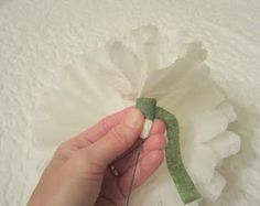 More detailed tutorial for coffee filter flowers... I think I'll try again...