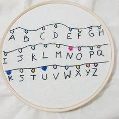Stranger Things - Embroidery - 17461350 | enjoei :p