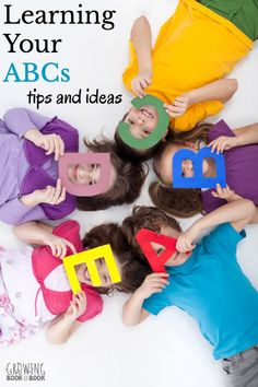 Tips and ideas for learning your ABCs.  What is the best way to teach toddlers and preschoolers the letters of the alphabet? via @growingbbb