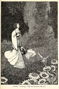 William Heath Robinson (1872-1944) - A Midsummer Night's Dream, 1914