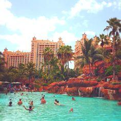 Love love love Paradise Island <3 Atlantis, Bahamas.