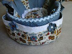 Detalhes cesta de costura