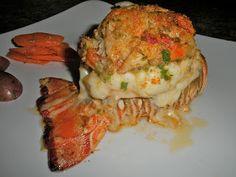 Shawna's Food and Recipe Blog: Crab Stuffed Lobster Tail