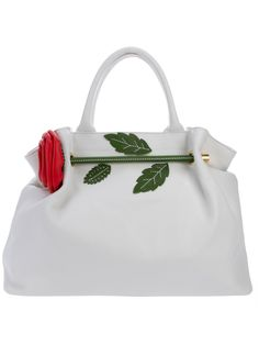 BRACCIALINI ROSE DETAIL BAG