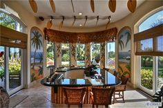 1000 images about hawaiian kitchens on pinterest for Tropical themed kitchen