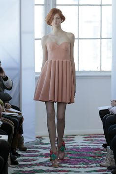 Desfile DelPozo en NY Fashion Week