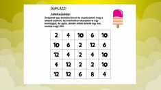 | SZÁMOLÁS Word Search, Puzzle, Words, Gallery, Math Resources, Puzzles, Roof Rack, Riddles, Quizes