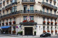 The Hotel de la Trémoille in Paris