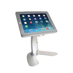 Anti-Theft Security Kiosk Stand for iPad (2017) / iPad Air / iPad Pro 9.7 / iPad (2-4)   Read more at SMART News : http://www.newtabapps.com/?p=22587  Whether you need a security stand for display, point of sale or personal use, CTA Digital's Anti-Theft Security Kiosk Stand for iPad and iPad Air will provide the features you need. This stand is made of strong and stylish aluminum with the perfect design to serve as a workstation, kiosk display ...   #2017 #AntiTheft #IPad #