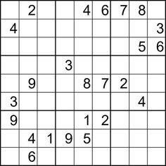 39 Ideas De Sudoku Sudokus Imprimir Sobres Actividades De Aprendizaje