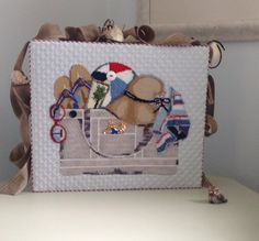 Beach Bag Canvas Melissa Shirley Designs finally back from finisher