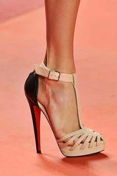 saturday morning christian louboutins - these are from phillip lims runway show.be Cheap price for Christian Louboutin High heels/Shoes for your Chrismas day! Hot Shoes, Crazy Shoes, Women's Shoes, Me Too Shoes, Shoe Boots, Platform Shoes, Pink Shoes, Gucci Shoes, Shoes Style