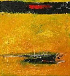 abstrakte kunst gelb