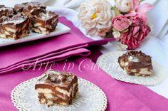 Quadrotti+di+biscotti+cioccolato+e+mascarpone+veloci