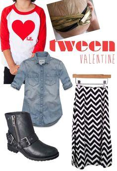 tween style...valentines day
