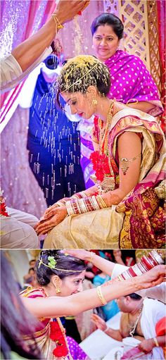 Love the details and colors of Indian weddings. The fabric is always breathtaking. Plan your dream wedding at http://www.allaboutweddingplanning.comand your romantic wedding night http://www.jevellingerie.com