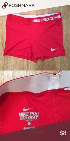 Nike pro spandex ~ price is negotiable ~ Worn, slight fading of the Nike symbols Nike Shorts