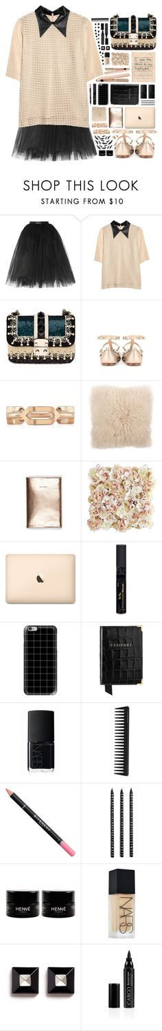 """2248 // S a g i t t a"" by arierrefatir ❤ liked on Polyvore featuring Ballet Beautiful, TIBI, Valentino, V Rugs & Home, Pier 1 Imports, Reviva Labs, Casetify, Aspinal of London, NARS Cosmetics and GHD"