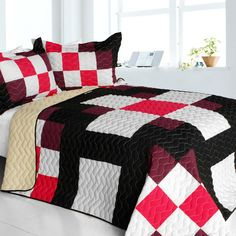 Romantic Girl Quilt Set (Full/Queen Size)