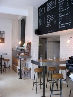 coffee shop style
