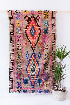 Use vintage Moroccan rugs as wall hangings, or as actual rugs.   17 Ways To Make Your Home Look Like A Hippie Hideaway