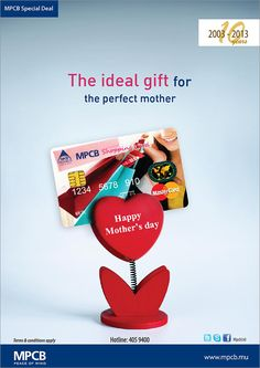 MPCB - Happy Mother's Day. Info: 405 9400