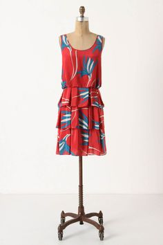 Ribbon Grass Dress from Anthropologie.  Perfect for spring...