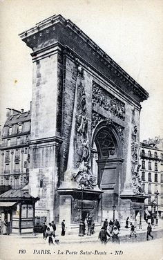 La Porte Saint Denis, Paris
