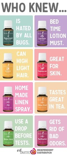 Who Knew - great uses for essential oil!!