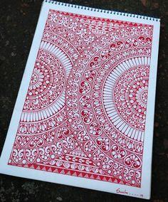 Mandala Art Lesson, Mandala Artwork, Mandala Painting, Mandala Drawing, Mandala Pattern, Pattern Art, Doodle Art Designs, Doodle Patterns, Doodle Art Drawing