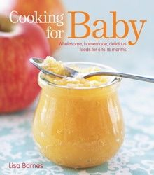 The 80 recipes in Cooking for Baby make preparing delicious meals for babies and toddlers a breeze, even for busy parents. The recipes are organized by age, showing how to introduce cereal grains and simple vegetable and fruit purees to your infant at 6 months, how to move on to chunkier foods by 8 or 9 months, etc