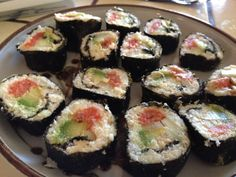 ] Cauliflower-Sushi Rolls ( no rice) low carb.. love it