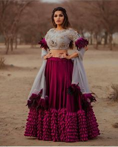 Latest Collection of Lehenga Choli Designs in the gallery. Lehenga Designs from India's Top Online Shopping Sites. Party Wear Indian Dresses, Designer Party Wear Dresses, Party Wear Lehenga, Indian Gowns Dresses, Indian Bridal Outfits, Dress Indian Style, Indian Fashion Dresses, Indian Designer Outfits, Indian Wedding Gowns