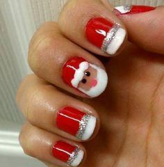 Christmas-Nail-Art-Design-Ideas-2017-54 88 Awesome Christmas Nail Art Design Ideas 2017
