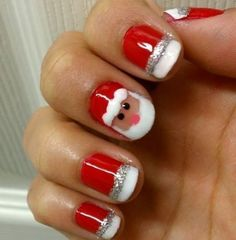 Christmas-Nail-Art-Design-Ideas-2017-54 88 Awesome Christmas Nail Art Design Ideas 2017