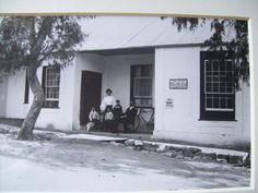 Post Office Villiersdorp circa 1910 photo by Ravenscroft