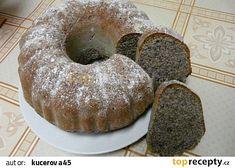 Sváteční maková bábovka recept - TopRecepty.cz Pavlova, Doughnut, Party Time, Muffin, Sweets, Baking, Breakfast, Cake, Desserts